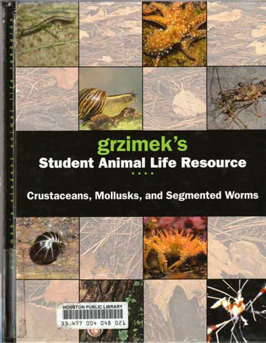 Grizmek's Student Animal Life Resource