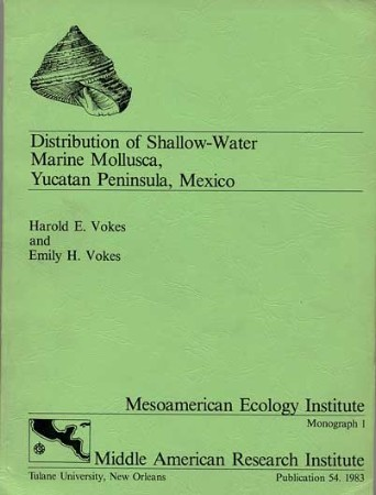 Distribution of Shallow-Water Marine Mollusca, Yucatan Peninsula, Mexico